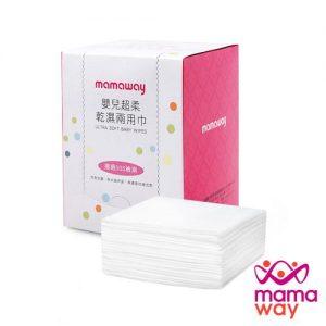 媽媽餵乾濕紙巾