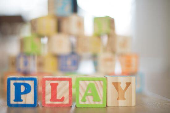 幼兒的玩具