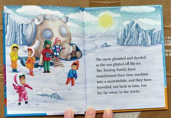 麥當勞繪本跟著北極熊