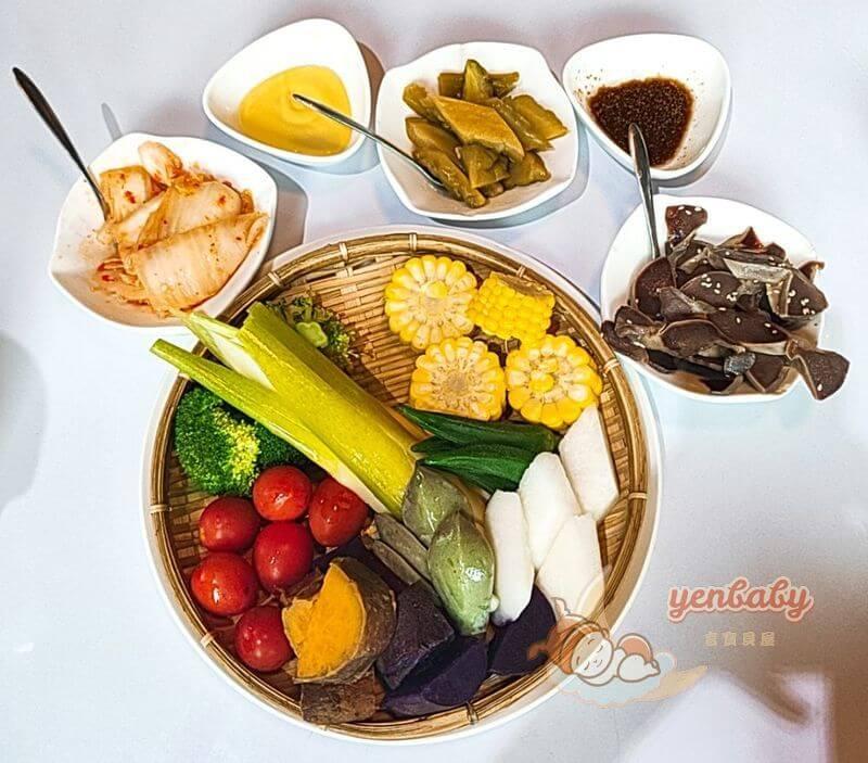 蘭陽三味及田園野菜盤