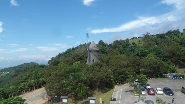 伯朗咖啡城堡風車