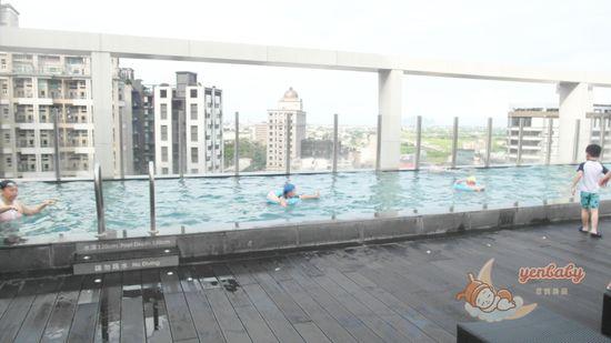 無邊際游泳池